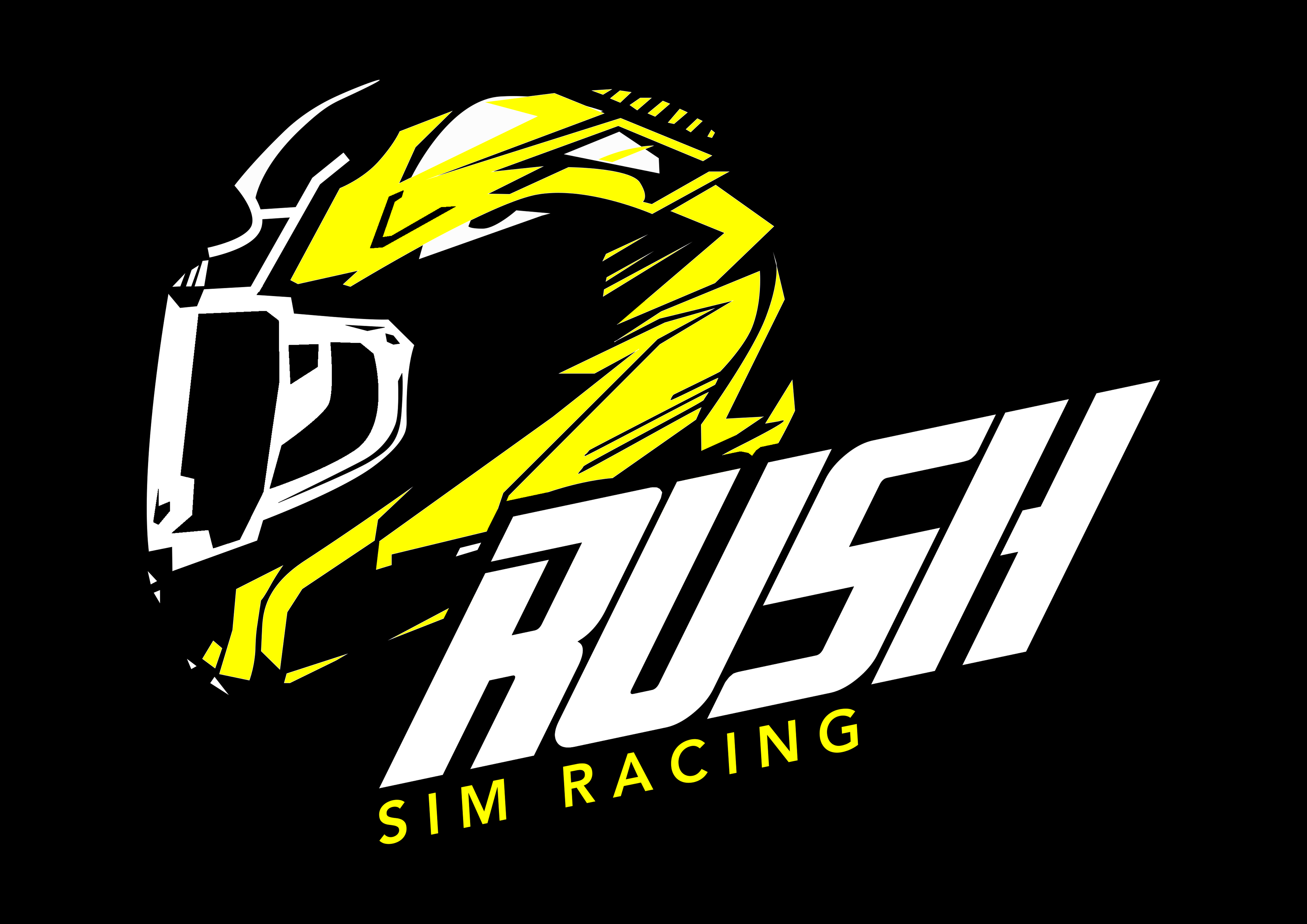 Rush Logo (Black Background)